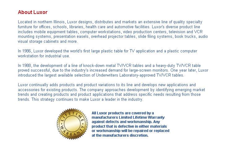 Luxor Information