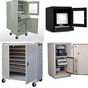 Sandusky Cabinets Edsal Luxor Da Lite And Fireking Take Care Of Our Computer Security Laptop Cartedia Storage